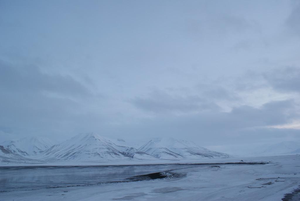 Adventdalen Fjord